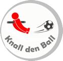 logo knall den ball kickertisch